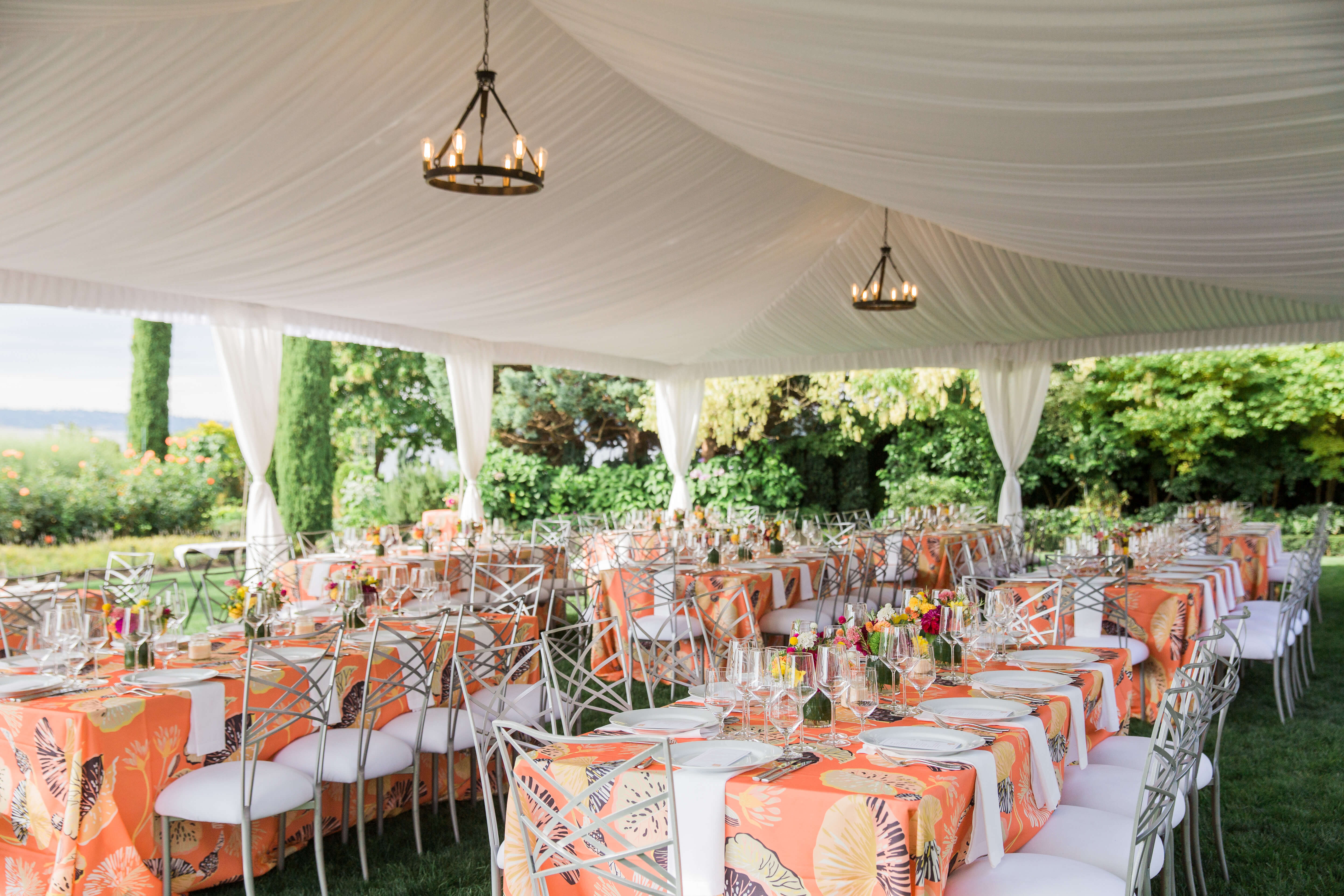 private residence tent