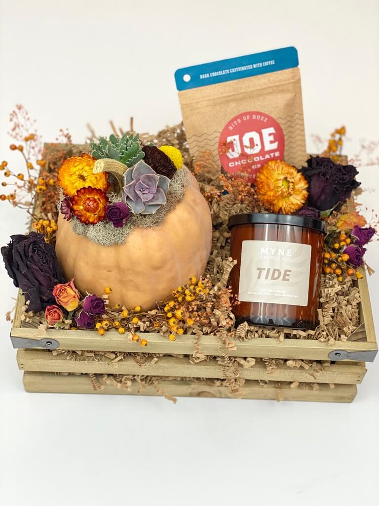 Trick or Treat Gift Crate