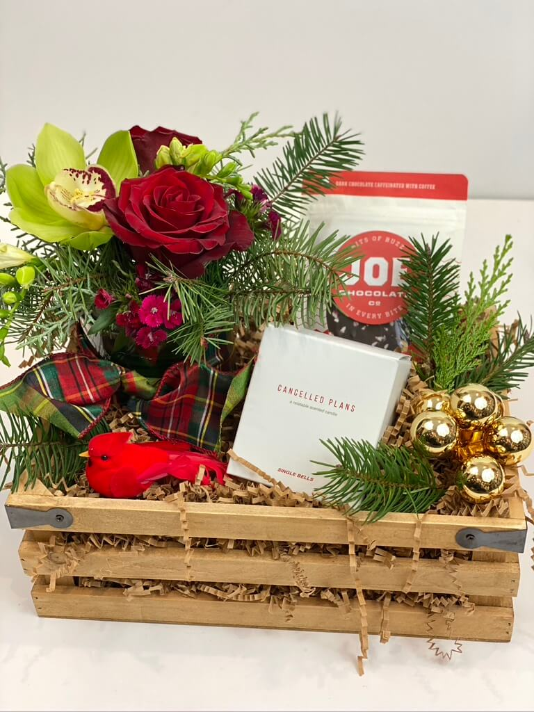 Holly Jolly Gift Crate